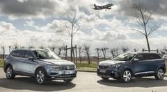 Essai : Le Volkswagen Tiguan Allspace défie le Peugeot 5008