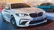 La BMW M2 Competition fuite