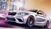 BMW M2 Compétition : les premières images de la M2 de 410 ch