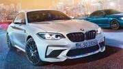 BMW : la M2 Compétition se montre en avance