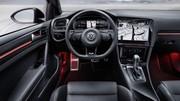 Volkswagen : la Golf 8 montre une partie de son intérieur