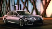 Lexus ES : première photo officielle avant le salon de Pékin