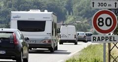 80 km/h sur les routes : les sénateurs prônent la modulation