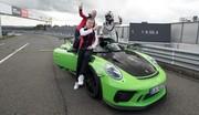 Nouveau record au Nurburgring pour la Porsche 911 GT3 RS