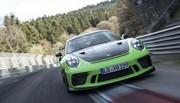Porsche 911 GT3 RS : 6'56 minutes sur le Nürburgring