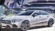 Mercedes Classe A berline 2018 : première image en fuite
