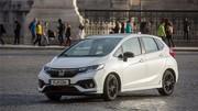 Essai Honda Jazz 1.5i VTEC CVT (2018) : la boîte et le cirage