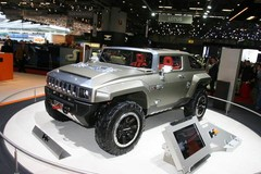 Hummer HX Concept : small is beautiful