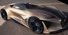 DS X E-Tense : Le concept-car virtuel de 2035