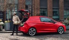Ford présente une version utilitaire de la Fiesta