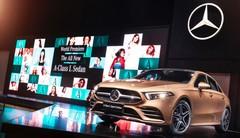 Mercedes Classe A Sedan : ses débuts au Salon de Pékin 2018
