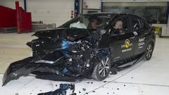 Crash-test Euro NCAP: 5 étoiles pour la Nissan Leaf, avec un test plus sévère