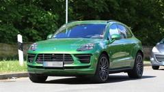 Le Porsche Macan montre son nouveau visage