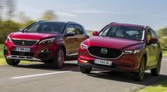 Essai : le Mazda CX-5 Sélection défie le Peugeot 3008 GT