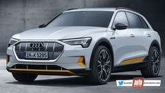 Futur SUV Audi e-tron (2019) : game of Tron