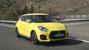 Essai Suzuki Swift Sport : assagie