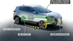 Kia: un nouveau moteur hybride diesel pour les Sportage et Ceed