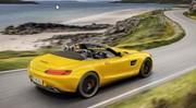 Mercedes AMG GT Roadster S : jaune brûlant