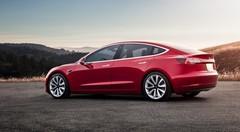 Tesla Model 3: des infos sur les versions quatre roues motrices et Performance