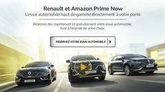 Amazon livre en ce moment des Renault