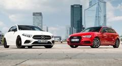 Essai : La Mercedes Classe A 2018 défie l'Audi A3 Sportback