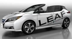 Nissan dévoile une inédite Leaf cabriolet