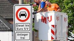 Voitures diesels : la première interdiction en Allemagne sera effective demain