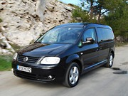 Essai Volkswagen Caddy Life Maxi 2.0 TDI 140 ch : Family in black