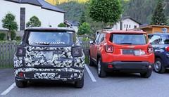 Le prochain Jeep Renegade testé aux côtés de l'actuel