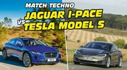 Match Jaguar I-Pace vs Tesla Model S : la bataille des technologies