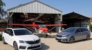 Essai Peugeot 308 GT SW vs Skoda Octavia RS Combi : Coups de blu(sh)/(ff) !
