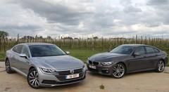 Essai BMW Série 4 Gran Coupé vs Volkswagen Arteon : Pour une poignée de centimètres