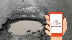 Betterstreet : l'application pour signaler les nids-de-poule