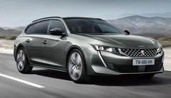 Peugeot 508 SW : break sans encadrement de porte