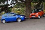 Essai Citroën C2 Stop & Start vs Smart Fortwo mhd : Consommer moins pour polluer moins