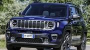Toujours aussi carré, le Jeep Renegade restylé