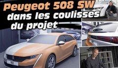 Dans les coulisses du projet Peugeot 508 SW