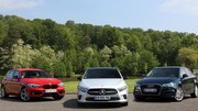 Comparatif : Mercedes Classe A (2018) vs Audi A3 Sportback et BMW Série 1 : une question de domination