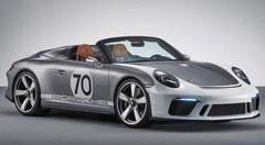 Porsche s'offre une 911 Speedster Concept en guise de cadeau d'anniversaire !