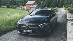 Essai Mercedes CLS Coupé 400d