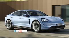 Porsche Taycan : la berline électrique en approche