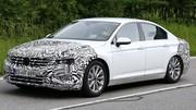 Première sortie pour la Volkswagen Passat restylée