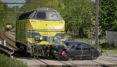 Train vs voiture : le test « choc » d'Infrabel