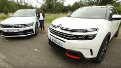 Citroën C5 Aircross vs Volkswagen Tiguan : question de philosophie