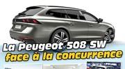 La Peugeot 508 SW faces à ses rivales