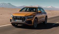 Essai Audi Q8 : station des sens