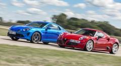 Essai : L'Alpine A110 défie l'Alfa Romeo 4C !