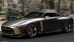 Nissan GT-R50 Concept Italdesign : le gâteau d'anniversaire de la GT-R