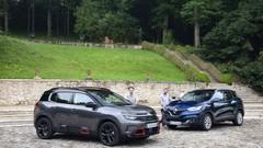 Citroën C5 Aircross vs Renault Kadjar: premier duel en vidéo
