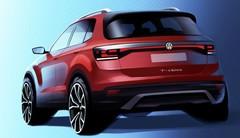 Volkswagen T-Cross 2018 : premier dessin officiel